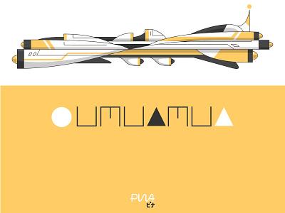 Oumuamua future space spaceship illustration design tech