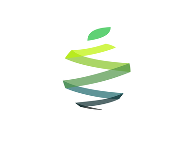 Apple green fruit zest logo seeb apple