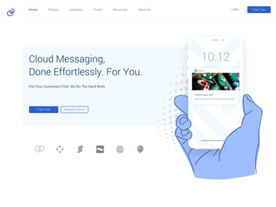 Cloud Messaging Landing