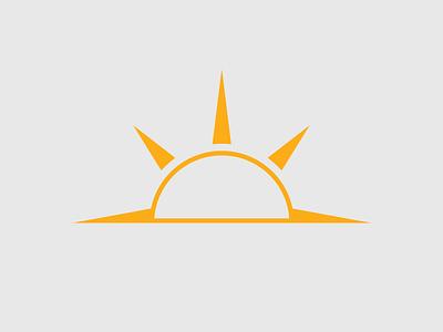 Logo orange illustrator branding ai vector logo
