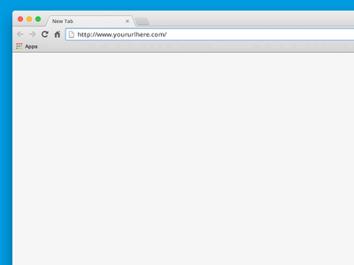 Chrome Browser Template guide psd free freebie mac osx ui design web template browser