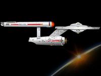 Starship Enterprise (Vector)