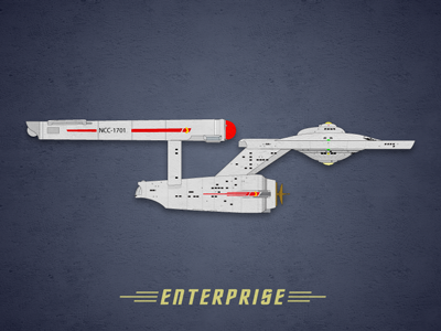 Enterprise rebound trek enterprise starship star trek ship