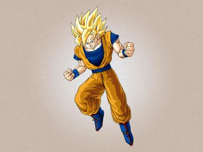 Goku Inking