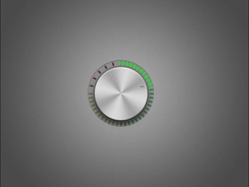Volume Dial ui knob dial dark