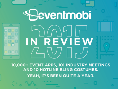 EventMobi 2015 Year in Review infographic year in review