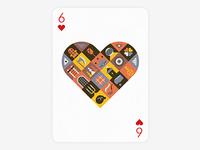 Playing Arts: 6 Hearts