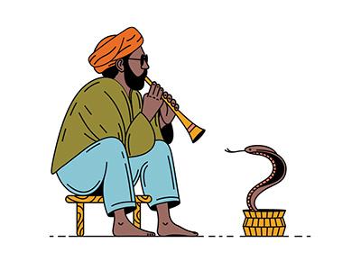 India music summer travel man cobra india