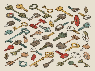 Keys lock key