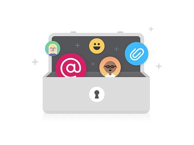 Toolkit emoji toolkit avatars color illustration