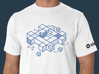 Slack Platform T-Shirt slack platform build logo