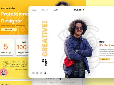 Premiere Design of m.a.ap0rt graphic design branding