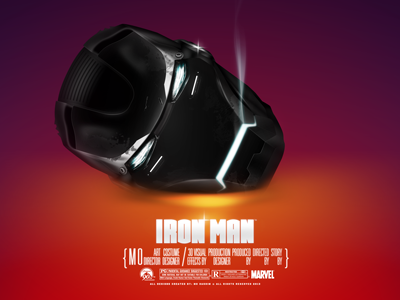 Iron Man - Black Head ironman marvel comics robot robotic wallpapers