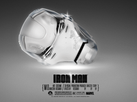 Iron Man - White Head