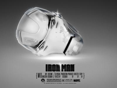 Iron Man - White Head ironman marvel comics robot robotic wallpapers