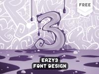 My Free Font - Eazy 3