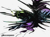 Colorful Black Liquid