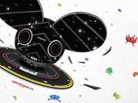 Deadmau5 2012 Head - Dark Invador