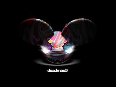 Deadmau5 Mad Colors - Remake deadmau5 wallpaper remake mau5 colors mad glow dark darkness head design iphone fanart