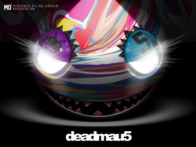 Deadmau5 Mad Colors - Remake deadmau5 wallpaper remake mau5 colors mad glow dark darkness head design iphone fanart desktop