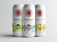 Saulter Street beer can design