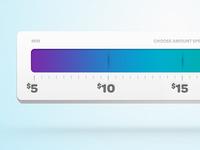 Amount Ruler