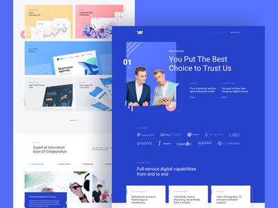 OWW Website new design studio company profile agency ux ui homepage landing page web design website