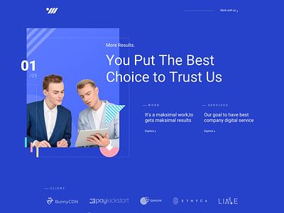 OWW Website new design studio company profile agency ux ui homepage landing page web design website