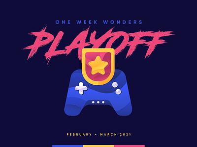 Playoff 2021 Chapter 1 badge intern game challenge oww team icon rebound playoff