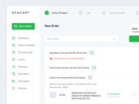 Egacart - Supplier Market Dashboard
