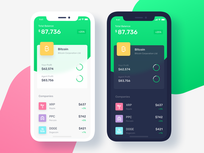 Trading App Update Exploration ux stats funds finance graph chart dashboard forex trading app ui