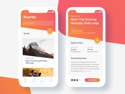 Event Finder App Exploration