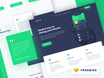 Freebies - Autocryp Landing Page