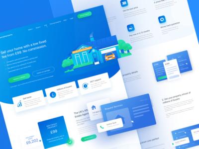 NextProperties Landing Page
