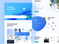 Heet - Hotelier Landing Page Preview