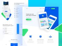 Iventlist - Event App Landing Page