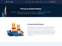Privacy data policy