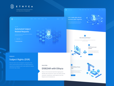 Ethyca - Partner Page & Profile Landing Page