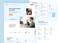 Webizen - Company Profile Landing Page