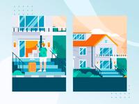 Pomah Rent House Register Login Animation