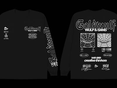 50%GF - 50%WG t-shirt design lettering fashion streetwear typography merch t-shirt design graphic design illustration