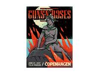 Guns'N'Roses gig poster