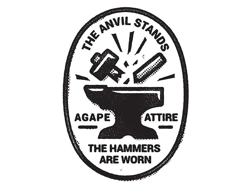 Anvil fashion illustration design streetwear t-shirt merch