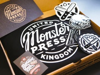 Monster Press branding