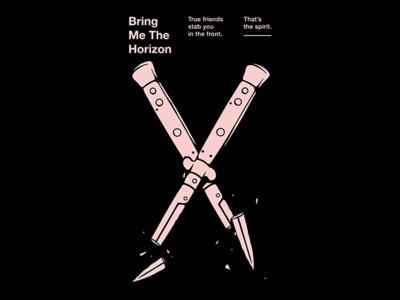 True Friends band music t-shirt design fashion merch design t-shirt graphic design illustration