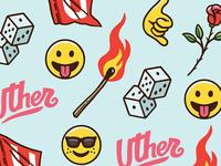 Uther emojis pattern