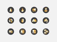 Tatano 2013 calendar: icons