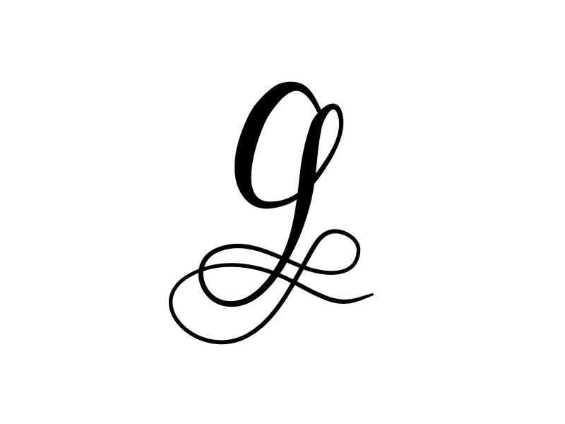 11 G Letter Vectorized
