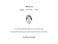 Nono.ma · Navigation