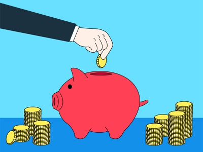 coin bank savingsbank save-all stillbank bank piggybank moneybox money coin coinbank illustration illustrator graphic vector design